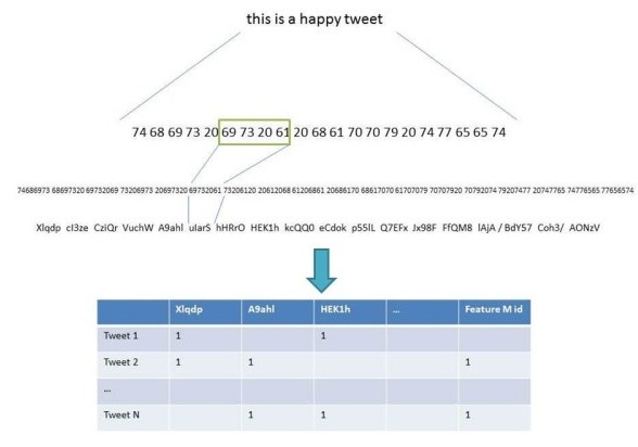 from tweets to data - the raw input for analysis